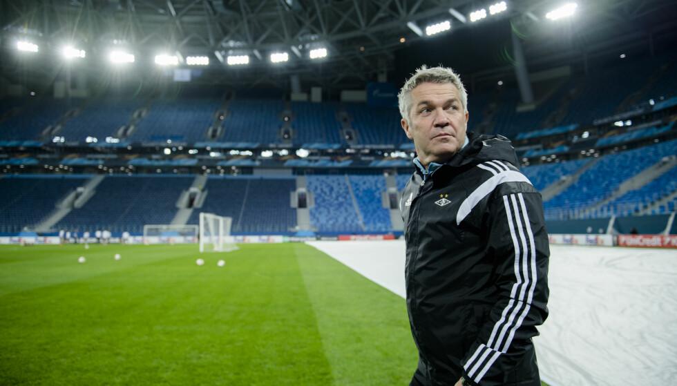 NY STORKAMP: Kåre Ingebrigtsen og Rosenborg møter Zenit St. Petersburg torsdag kveld. Foto: Ole Martin Wold / NTB scanpix