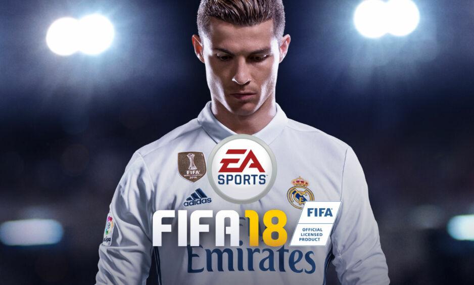 NYLIG LANSERT: FIFA 18 er det nyeste i rekken av FIFA-spill. Foto: EA Sports/FIFA