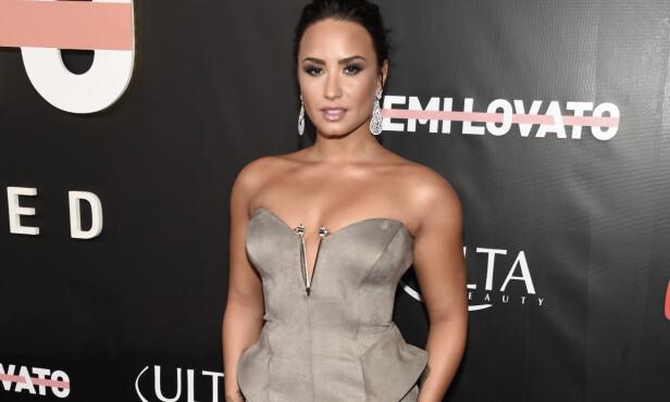 BEDRE NÅ: Demi Lovato avbildet i Los Angeles forrige uke, på premieren til sin nye dokumentarfilm. Foto: NTB scanpix