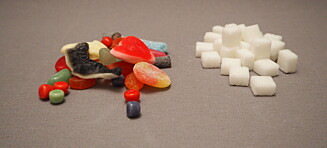 Gummigodteriet avslørt: Sjekk hvor mange sukkerbiter det inneholder