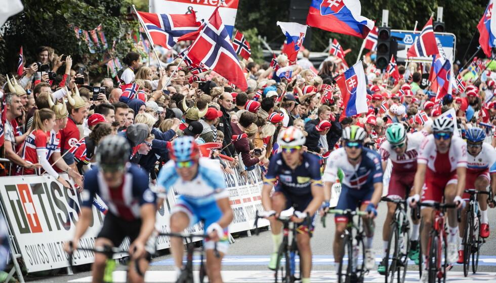 ØKONOMISK TRØBBEL: Problemene fortsetter for sykkel-VM i Bergen. Foto: Hans Arne Vedlog / Dagbladet .