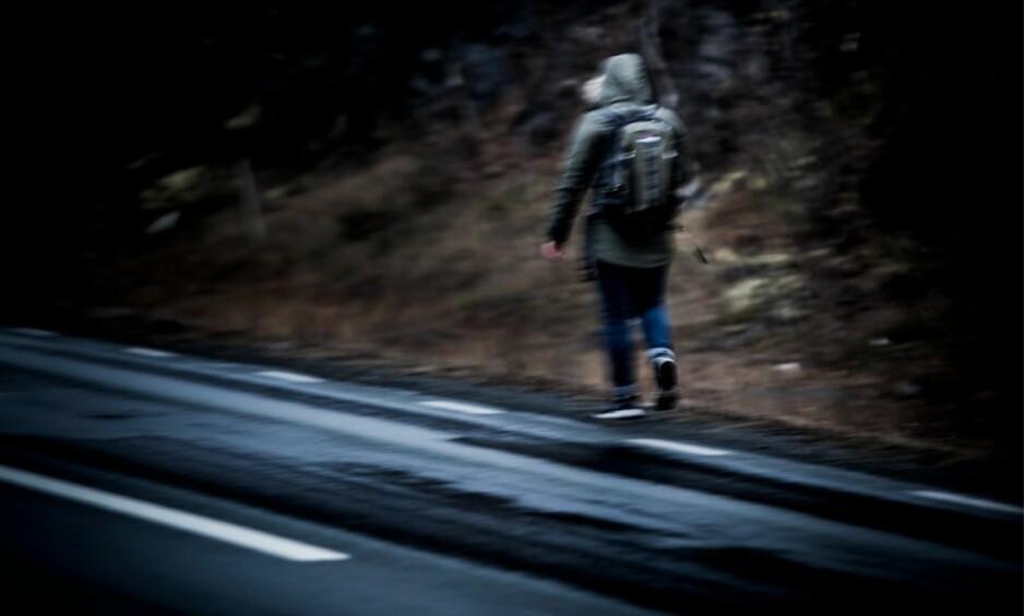 RØMTE LANDET: I fjor høst fulgte Dagbladet asylsøkeren Armin på hans flukt fra Norge. Han er ett av oktoberbarna som nå befinner seg i utlandet. Foto: Christian Roth Christensen / Dagbladet