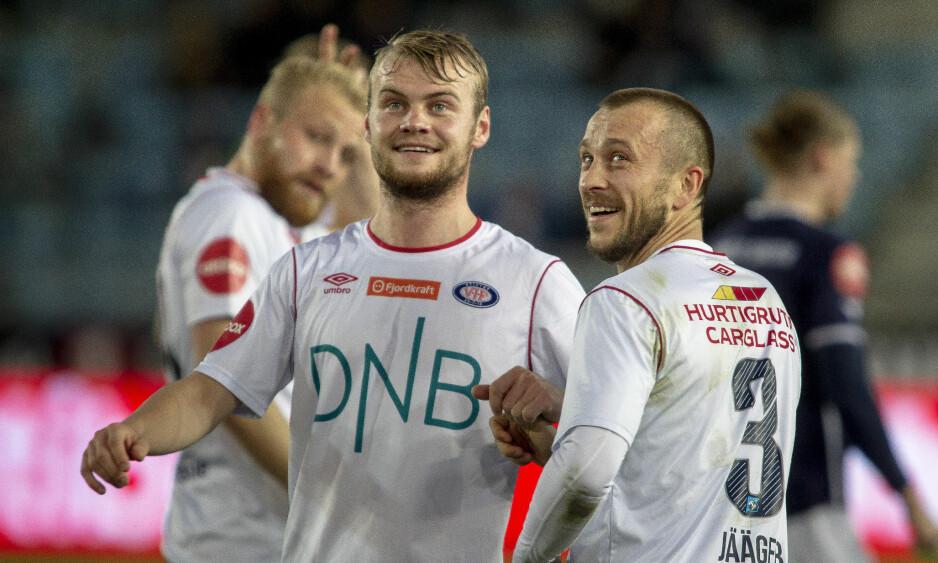 TIL GODSET: Herman Stengel bytter ut Vålerenga med Strømsgodset fra 1. januar. Oslo-klubben ville ha ham med videre, men 22-åringen følte ikke at han fikk nok spilletid. Foto: Carina Johansen / NTB Scanpix