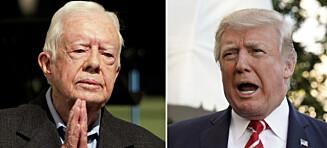 Derfor tviler ekspertene på Carter som fredsmekler