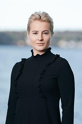 JOBBER I FERD-SYSTEMET: Katharina G. Andresen (22). Foto: Frédéric Boudin / Ferd