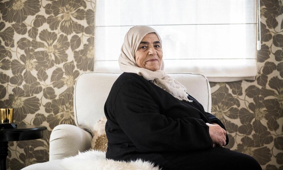 TAR TIL MOTMÆLE: Fatima Ababri ønsker at Human Rights Service skal slette bildet av henne. Foto: Lars Eivind Bones / Dagbladet
