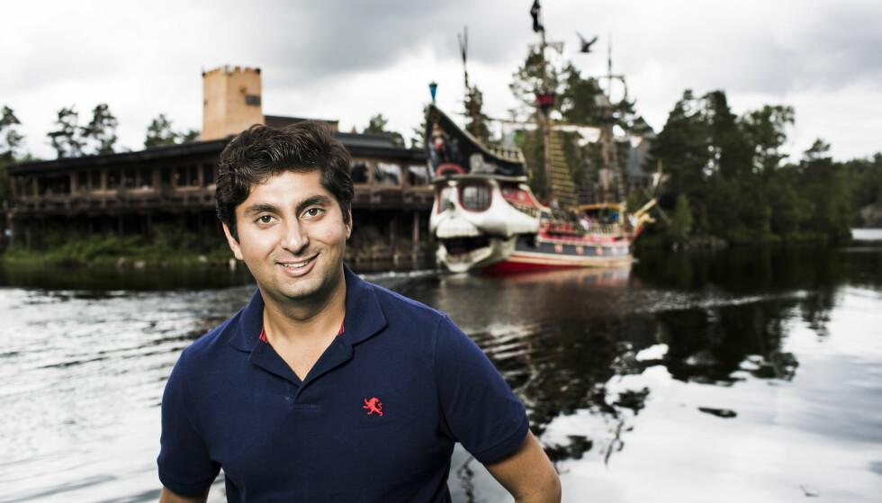 EIENDOM: Himanshu Gulati (29) har tjent gode penger på eiendomsmarkedet i Oslo. Foto: Sondre Steen Holvik / Dagbladet