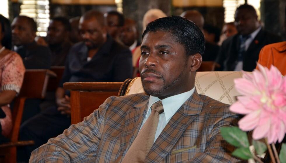 DØMT: Sønnen til presidenten i Ekvatorial-Guinea ble fredag, etter en lang og omstendelig rettsprosess, dømt til tre års betinget fengsel i en fransk domstol for blant annet underslag og korrupsjon. Foto: AFP / NTB scanpix