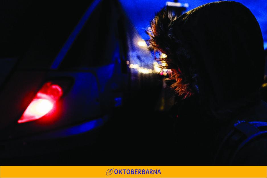 FÅR HJELP: Dagbladet fulgte asylsøkeren «Armin» på flukten fra Norge tidligere i oktober. Nå er han i Spania. På veien gjennom Europa har han blant annet fått tips og hjelp fra norske hjelpere. FOTO: CHRISTIAN ROTH CHRISTENSEN
