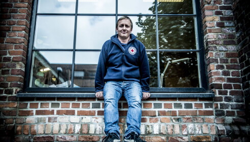 IKKE IMPONERT: Mads Harlem, leder av folkerettseksjonen i Røde Kors mener Regjeringen synser for mye i våpeneksport-melding for 2016. Foto:Thomas Rasmus Skaug / Dagbladet