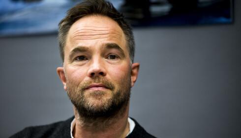 HOVEDROLLEN: Jon Øigarden spiller hovedrollen, journalisten Petter Verås, i «Mammon». Foto: Erlend Aas / NTB scanpix
