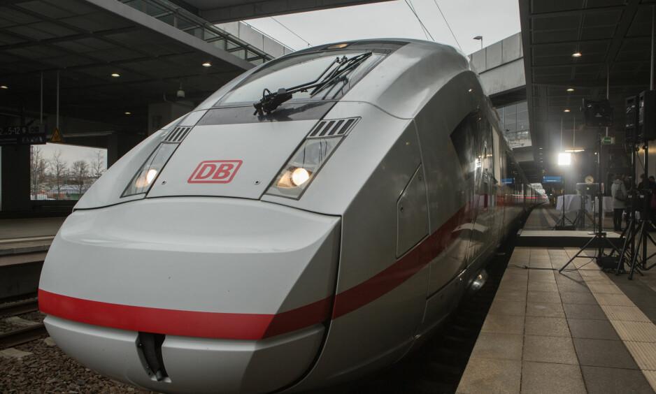 NYTT TOG: De nye ICE 4-togene til Deutsche Bahn kommer på skinnene i desember. Innen den tid skal de få et nytt navn. Ett av navneforslagene, Anne Frank, vekker reaksjoner. Foto: BM für Verkehr und digitale Infrastruktur / Flickr