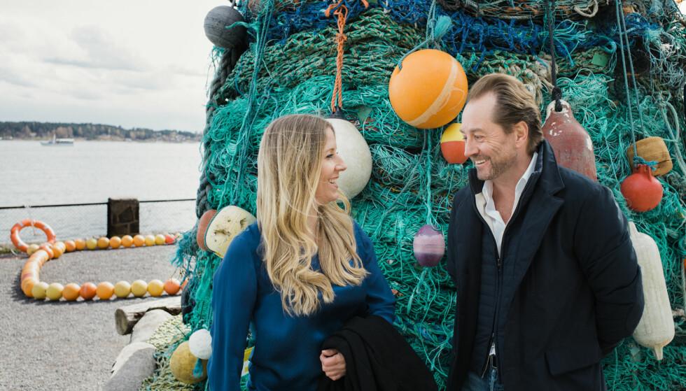 SA JA TIL SLUTT: Nina Jensen er overbevist om at Kjell Inge Røkke mener alvor med sitt engasjement for livet i havet. Foto: Ilja C. Hendel.