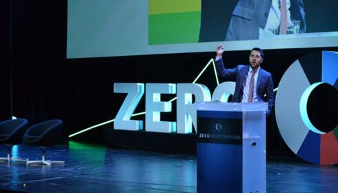 I OSLO: Brian Deese deltok i dag på miljøstiftelsen Zeros konferanse i Oslo