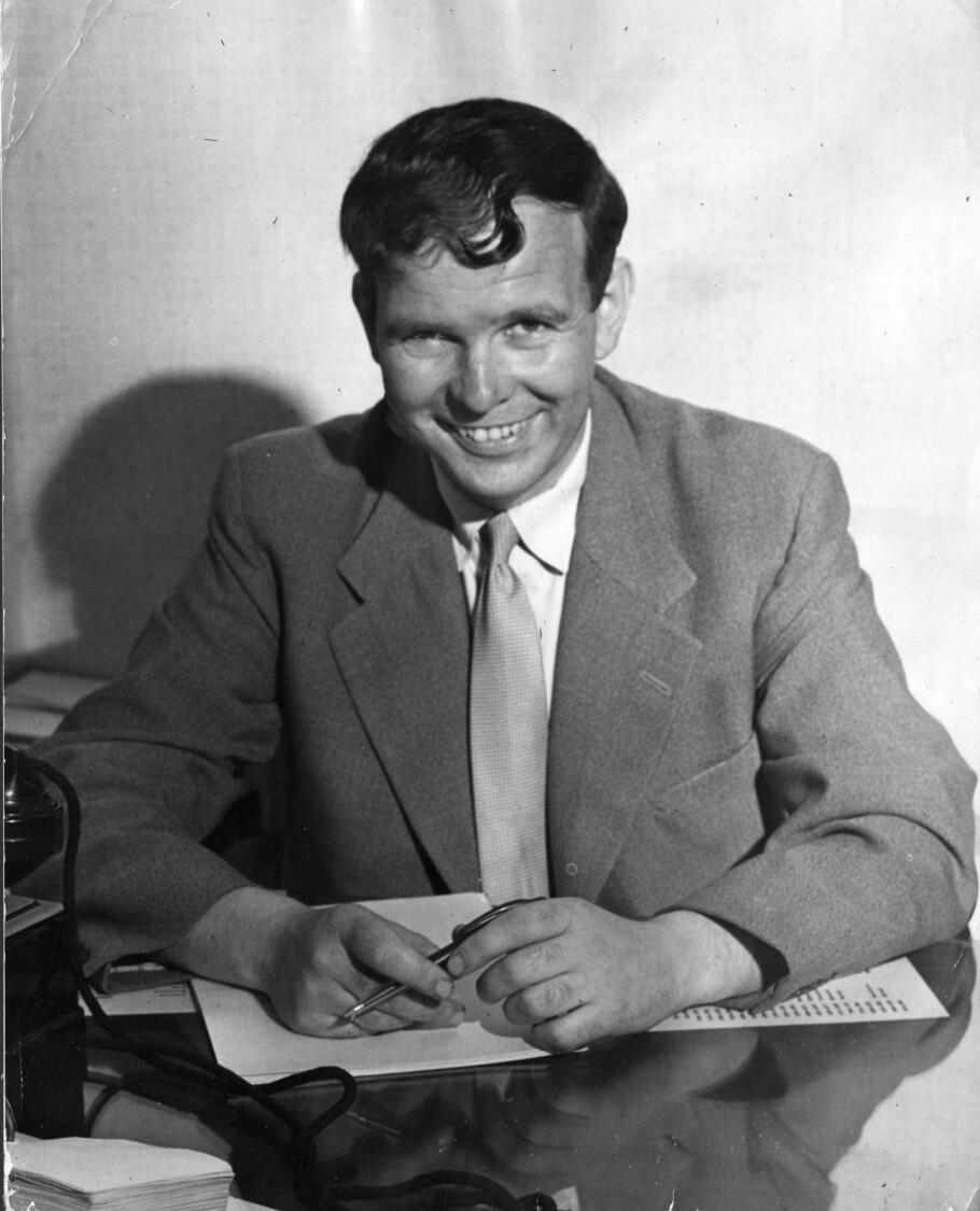 KULTURRADIKALER: Helge Seip på 1950-tallet. Han var i perioden 1954 - 1965 sjefredaktør i Dagbladet.