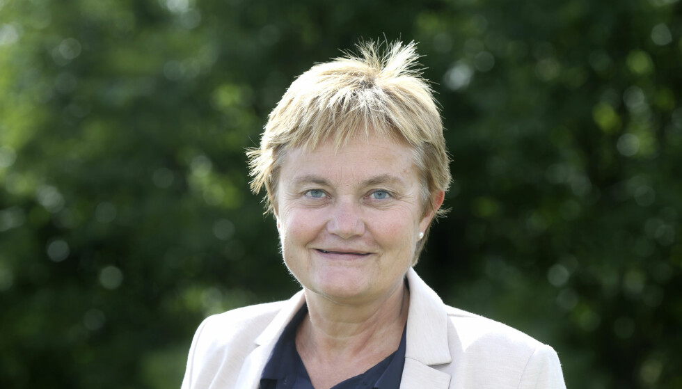 SVARER: Rigmor Aasrud svarer Høyre om økonomisk styring. Foto: Vidar Ruud / NTB Scanpix