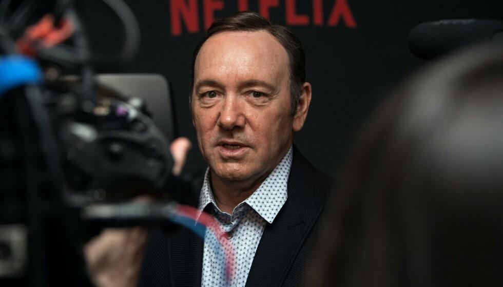 - OPPSØKER HJELP: Kevin Spacey har, ifølge hans egne representanter, valgt å oppsøke behandling som følge av skandalen. Foto: NTB scanpix