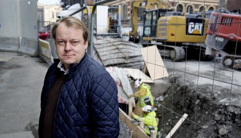 KAMP MOT ARBEIDSLIVSKRIMINALITET: I kampen mot sosial dumping vil de blå styrke Arbeidstilsynet og fjerne skranker for tett samarbeid mellom NAV, politi, tollvesen og utlendingsmyndigheter. Foto: Henning Lillegård / Dagbladet .