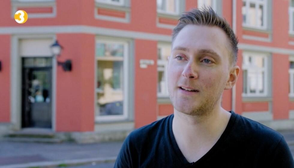 FLERE GRUNNER TIL DELTAKELSEN: Gründeren Andreas Hatlem innrømmer gjerne at ønsket om positiv PR var en stor motivasjon å til melde bedriften på TV3-programmet. Foto: TV3.