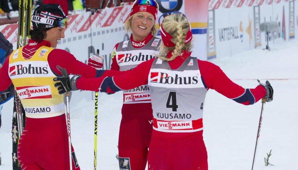 EKSPERT: Vibeke Skofterud blir tv-ekspert under OL. Dit skal trolig også Marit Bjørgen som utøver. Foto: Terje Bendiksby / Scanpix