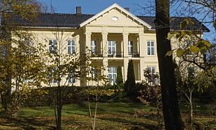 EGNE KONTORER: Kronprinsparets fond leier lokaler i fasjonable Madserud allê ved Frognerparken i Oslo. Foto: Henning Lillegård / Dagbladet .