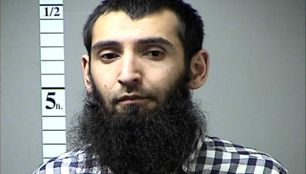 TERRORISTEN: Sayfullo Saipov. Foto: Reuters / NTB Scanpix