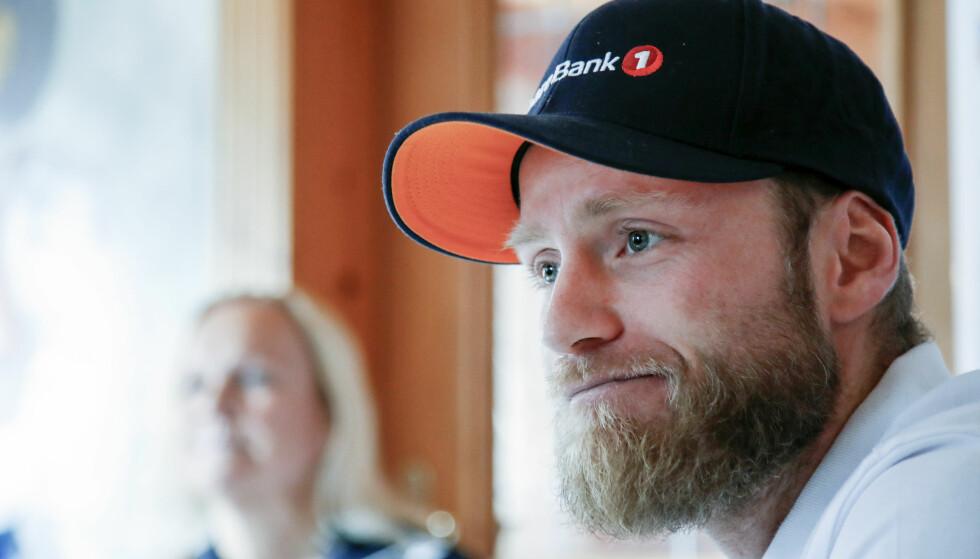TRIST: Martin Johnsrud Sundby vil ikke ha noen glede av OL-bronsemedaljene han ligger an til å overta etter diskvalifikasjonen av Alexander Legkov. Han synes hele saken er trist. Foto: Cornelius Poppe / NTB scanpix