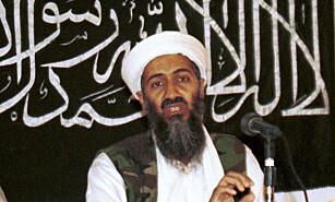 STOLT FAR: Osama bin Laden (1957-2011) var ifølge dialog i bryllupsvideoen glad for at sønnen ble gift. Bin Laden senior ble drept av amerikanske elitesoldater 2. mai 2011. Foto: Mazhar Ali Khan / AP / NTB Scanpix