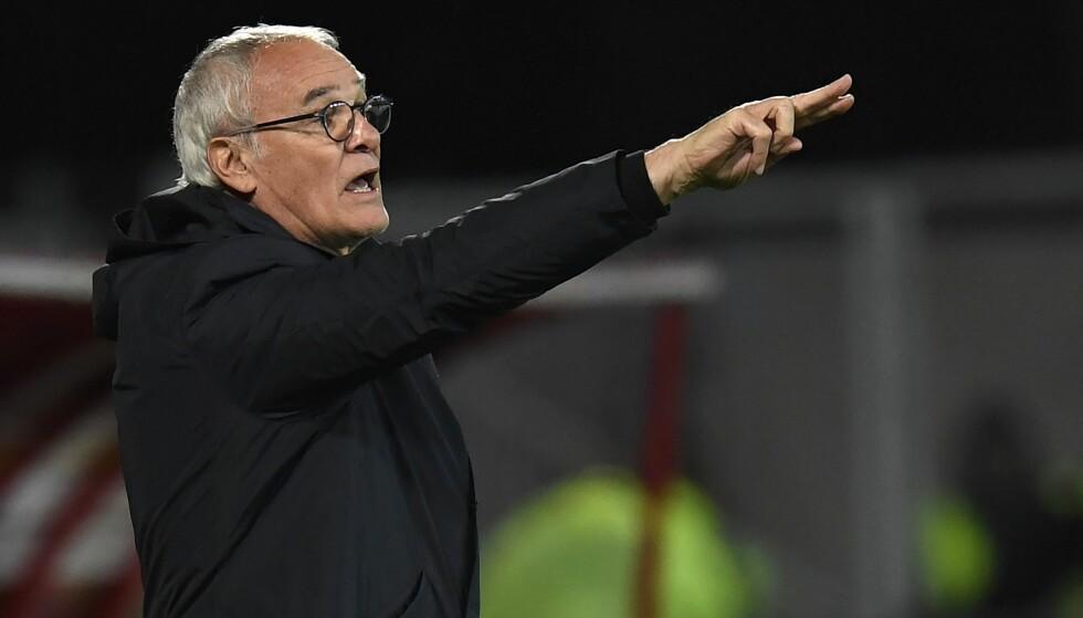 Lykkes i Frankrike: Claudio Ranieri har åpnet sesongen bra med Nantes i Ligue 1. Foto: PHILIPPE DESMAZES / AFP PHOTO / NTB Scanpix