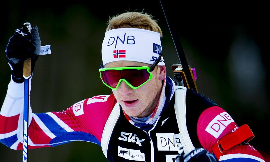 NATTDYR: Johannes Thingnes Bø har planer om å være våken til langt på natt under OL for å holde på den norske døgnrytmen. Foto: Bjørn Langsem / Dagbladet.