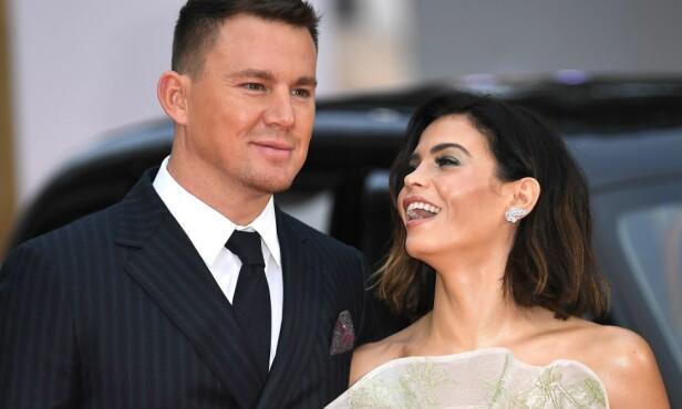 GIFT: I år har skusepillerparet Channing Tatum og Jenna Dewan-Tatum vært gift i 11 år. Foto: NTB Scanpix
