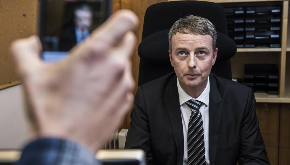 BRÅK OM BARENTSHAVET: Terje Søviknes risikerer å måtte møte i kontrollkomiteen på Stortinget. Foto: Lars Eivind Bones / Dagbladet