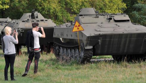 MANGE VIL SE: En rekke turoperatører i Ukraina selger turer til Tsjernobyl. Neste sommer kan du også bestille hos en norsk operatør, med Hans Wilhelm Steinfeld som reiseleder. Foto: NTB Scanpix