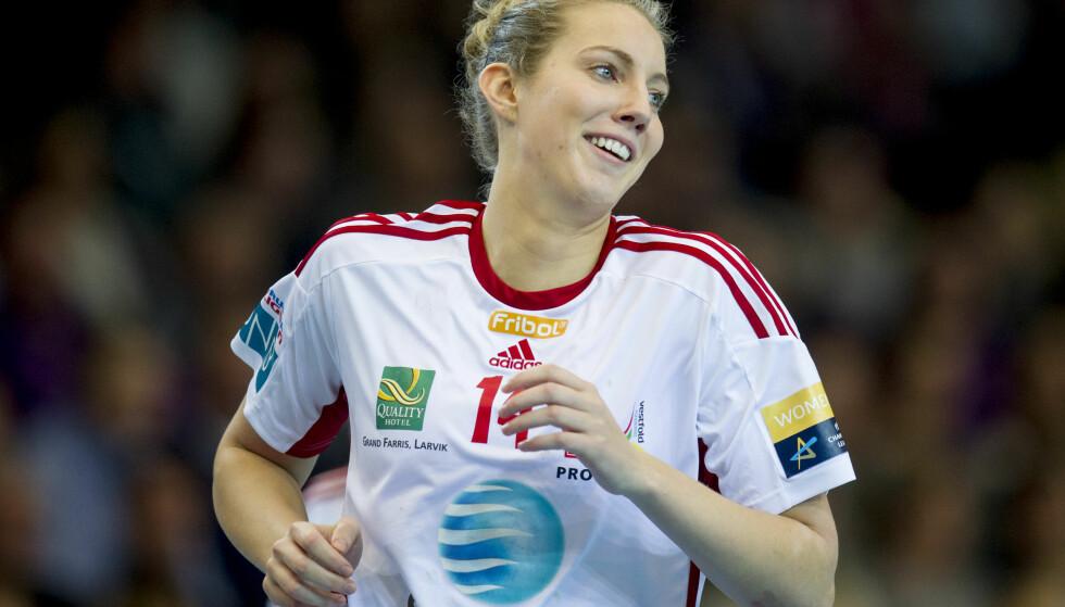 GOD: Kristine Breistøl var en av Larviks toppscorere i Makedonia med seks mål. Foto: Jon Olav Nesvold / NTB scanpix