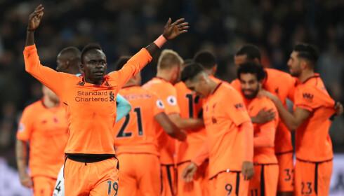 COMEBACK: Sadio Mane har vært savnet i Liverpool. I kveld var han tilbake - og viste seg fram med positivt fortegn. Foto: NTB Scanpix