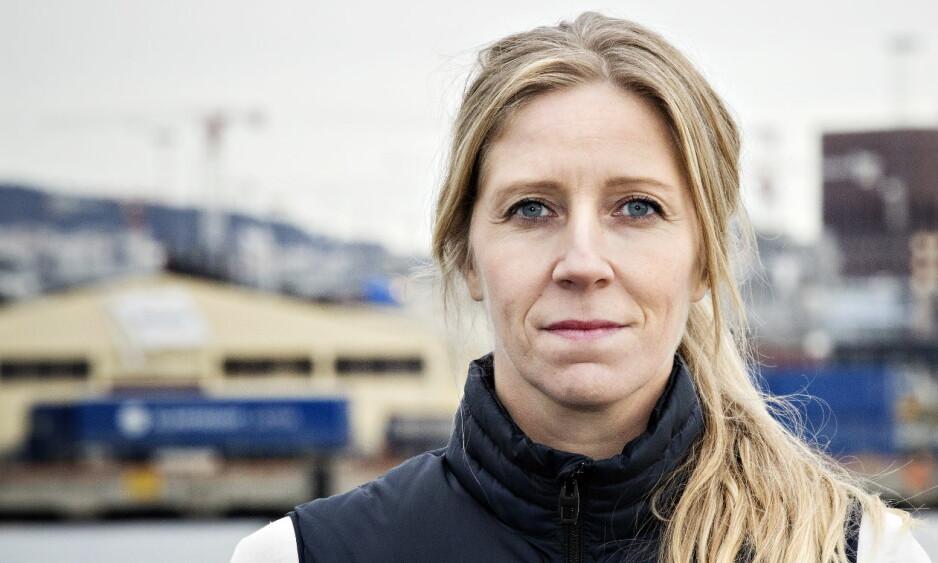 WWF-LEDER: Nina Jensen er til daglig generalsekretær for WWF. I dag var hun rett ved da det ble skutt i Oslo sentrum. Foto: Nina Hansen / Dagbladet