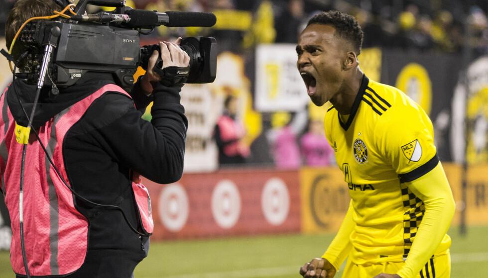 MED IGJEN: Ola Kamara får sjansen på landslaget igjen. Foto: Greg Bartram/USA TODAY/ NTB Scanpix