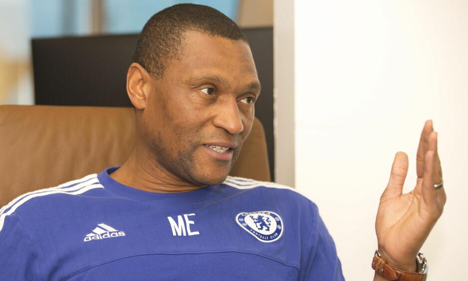FERDIG I CHELSEA: Teknisk direktør Michael Emenalo slutter i Chelsea etter ti år i forskjellige jobber i London-klubben. Foto: REX / Shutterstock / NTB Scanpix