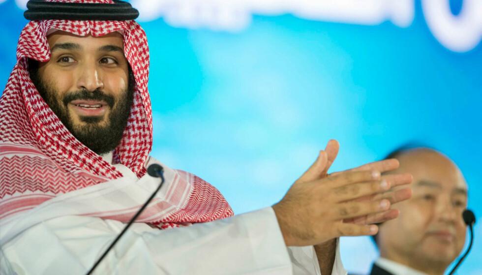 Saudi-Arabias kronprins Mohammad bin Salman. Foto: Saudi Press Agency via AP / NTB scanpix