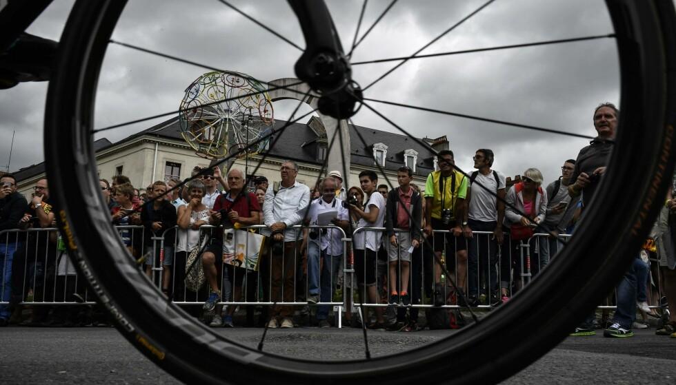 DØDSFALL: Den 20 år gamle syklisten Bjarne Vanacker ble mandag morgen funnet død i sitt hjem i Belgia. Dette er et illustrasjonsbilde. Foto: NTB Scanpix