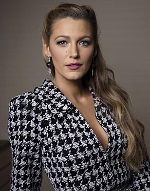 STJERNE: Skuespiller Blake Lively slik hun er best kjent. Foto: Scanpix