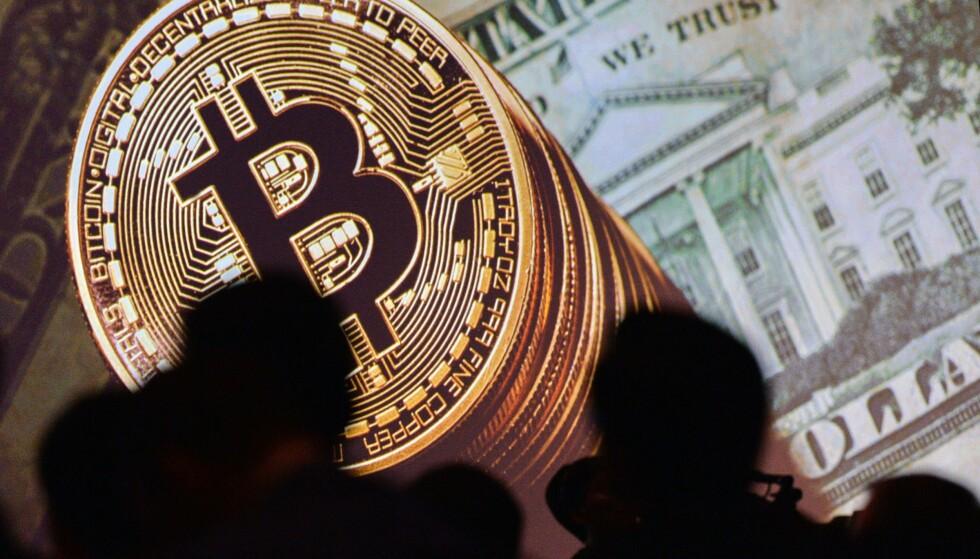 KRYPTOVALUTA: Bitcoin er en digital valuta, som kun kan veksles elektronisk, og eksisterer ikke i form av mynter og sedler.