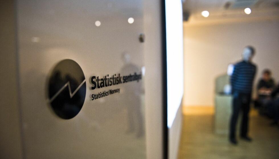 FAKTASJEKK: Faktisk.no har skrevet om hvordan forskere i Statistisk sentralbyrå (SSB) ble målt. Foto: Aleksander Andersen / Scanpix .