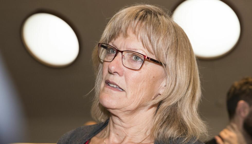OPPGJØR: Karin Andersen (SV) mener regjeringen skaper flere fattige hvis ikke bostøtteordningen forbedres. Foto: Terje Pedersen / NTB scanpix
