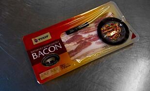GODT VALG: Tulip bøkerøkt bacon smaker søndagsfrokost.