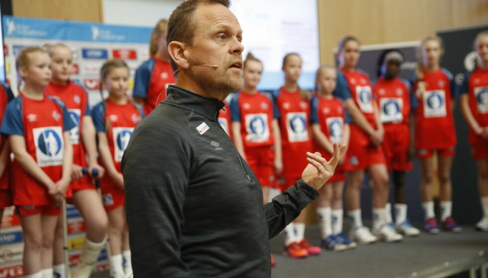 TOK UT TROPPEN: Thorir Hergeirsson. Bjørn Langsem / Dagbladet.