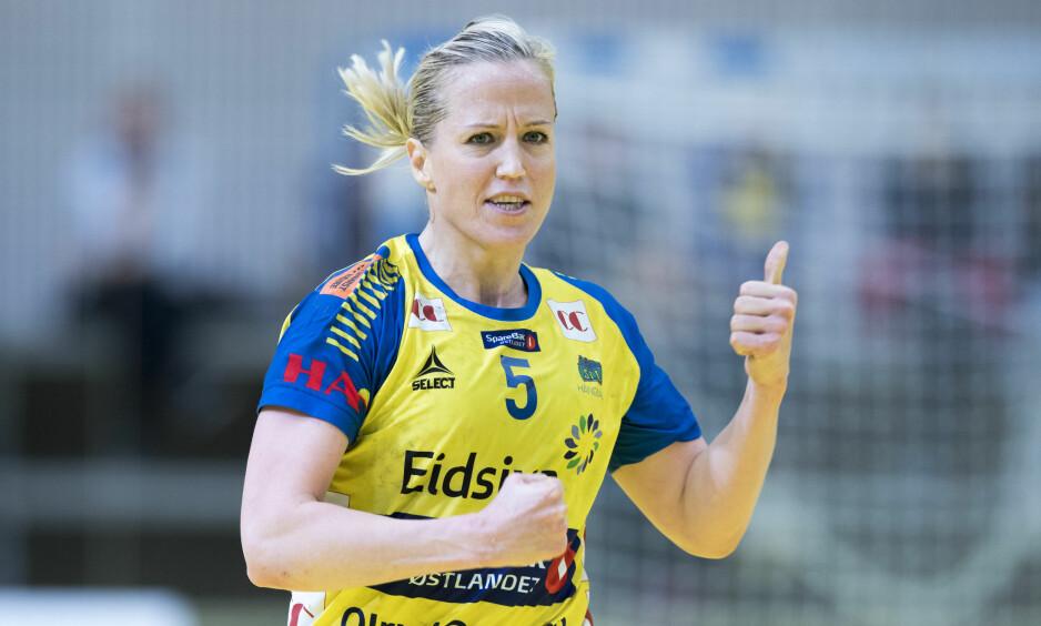 ETTERTRAKTET: Heidi Løke spiller for tida i Storhamar, men gamleklubben Györ ønsker nå å hente henne tilbake, melder ungarske medier. Foto: Terje Pedersen / NTB scanpix