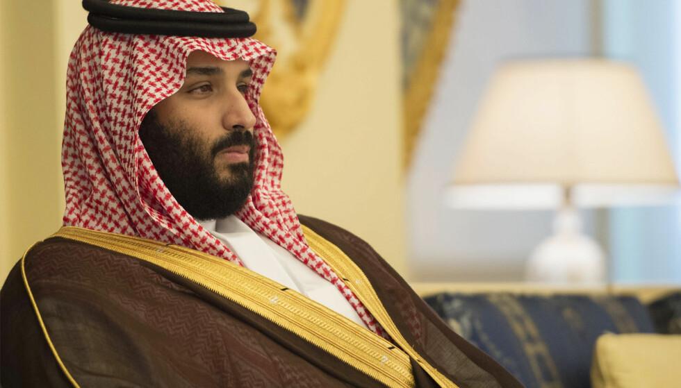 KRONPRINS: I helga ble titalls personer arrestert i Saudi-Arabia. Trolig er de rivaler av kronprins Mohammed bin Salman (bilde), tror Midtøsten-ekspert. FOTO: AP / NTB Scanpix