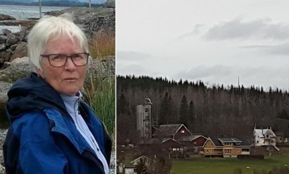 FØLER SEG LURT: Wanja Dahl sier flere i bygda føler seg lurt. Bak åsen kan man skimte masten Telenor har oppgradert. Foto: Privat
