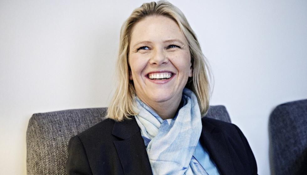 Konfronterer: Sylvi Listhaug konfronterer norske kjendiser etter asylkampanje. Foto: Nina Hansen / Dagbladet
